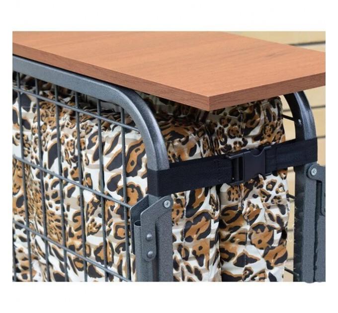Раскладная кровать усиленная на стальной решетке «Адель-80»