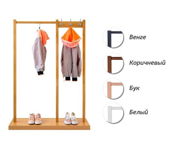Cтойка для одежды с крючками «ЭЛИТ 3»