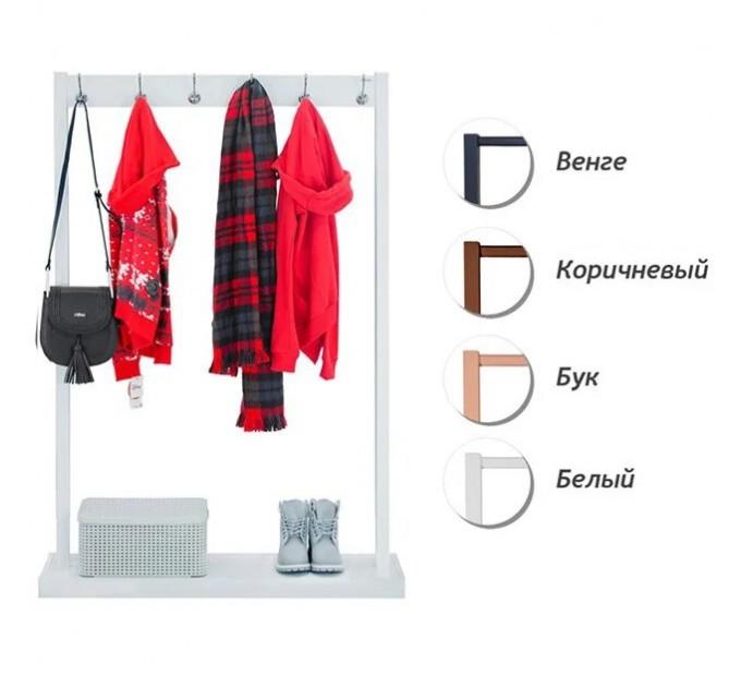 Cтойка для одежды с крючками «ЭЛИТ 4»
