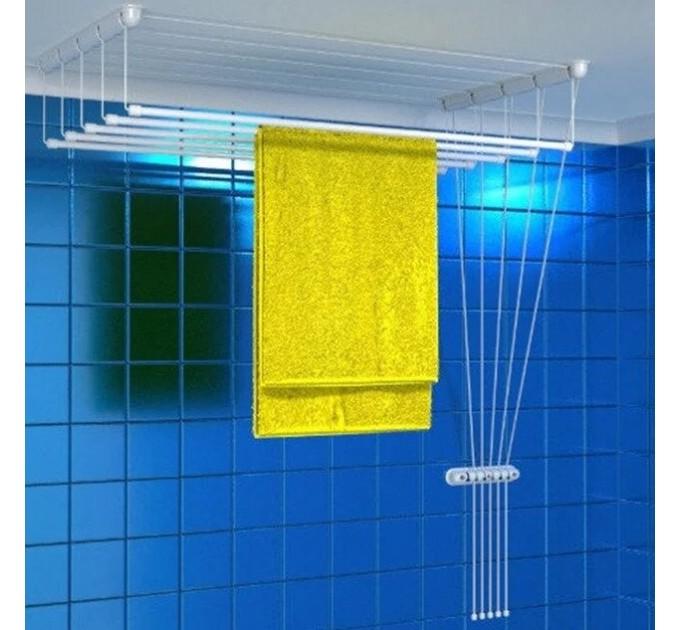 Сушка для белья потолочная «Глория», 220 см.
