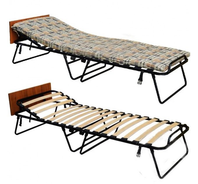Раскладная кровать « Лаура» с регулируемым подголовником