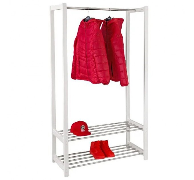 Стойка для одежды с полками «ЛЮКС»