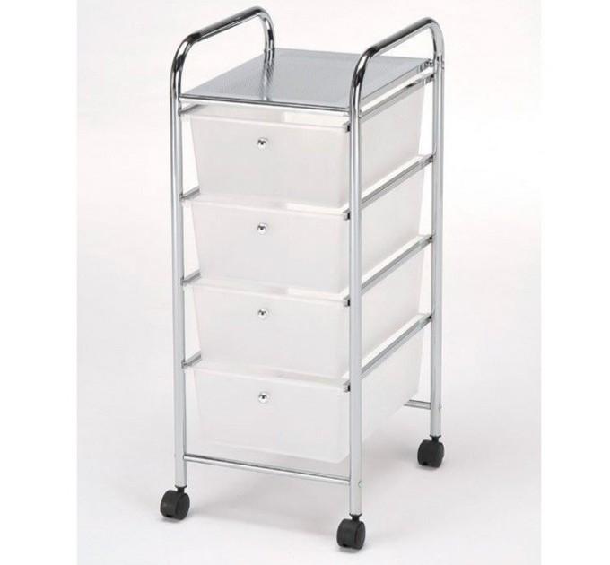 Сервировочный столик-тележка  с ящиками BS-1011-4