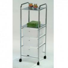 Многофункциональная тележка-столик со встроенными системами хранения BS-1054-3