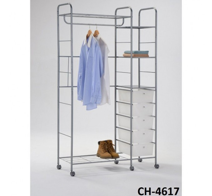 Стойка для одежды универсальная с ящиками CH-4617