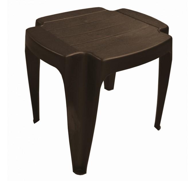 Стол пластиковый «Siusi» (коричневый)