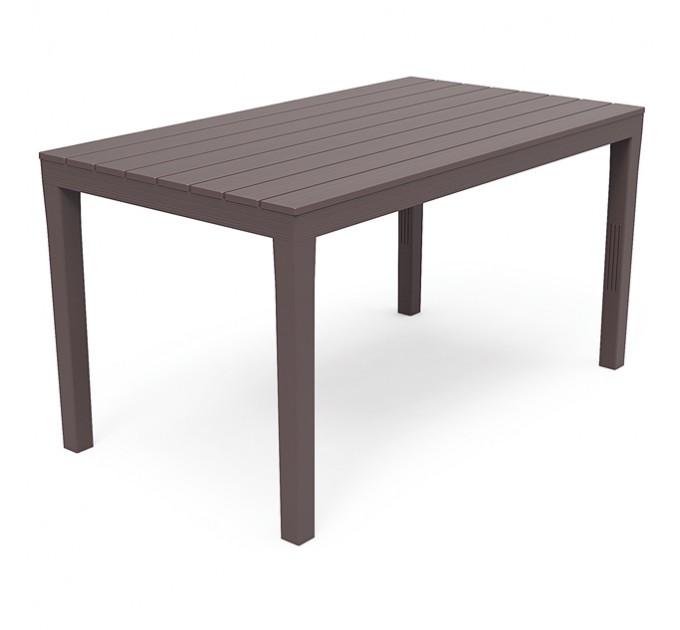 Стол пластиковый «Sumatra» (коричневый)