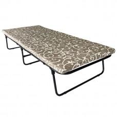 Раскладная кровать раскладушка на ламелях с матрасом «Вера»
